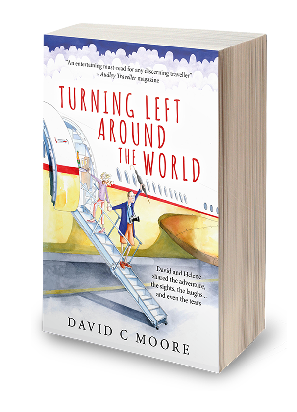 Turning Left Around the World Book Cover