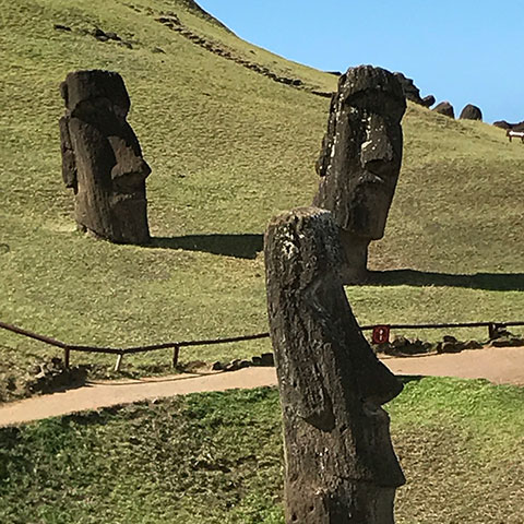 The Moai of Rapa Nui